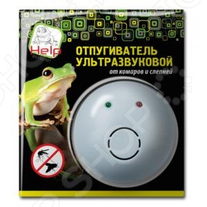 Отпугиватель ультразвуковой комаров и слепней Help 80404 майка классическая printio nerd sega