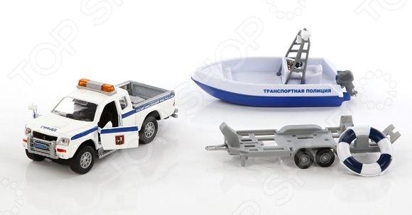Модель коллекционная Пламенный Мотор Mitsubishi «Полиция. Патрульный катер»