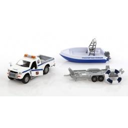 фото Модель коллекционная Пламенный Мотор Mitsubishi «Полиция. Патрульный катер»