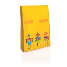 фото Термопакет IRIS Barcelona Ролбэг Snack Rico I9917. Цвет: желтый. Рисунок: роботы