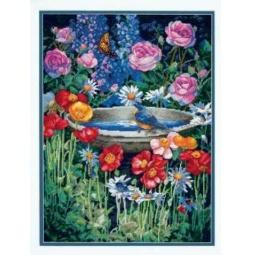 фото Набор для вышивания Dimensions «Отражение сада»