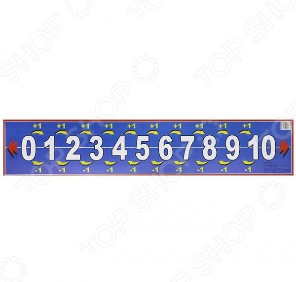 Вашему вниманию предлагается учебное наглядное пособие с числовым рядом.