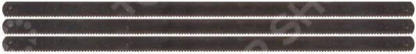 Набор пильных полотен FIT 40090Ножовочные полотна<br>Набор полотен FIT 40090 предназначен для распиловочных работ по металлу при помощи ножовки. В набор входит 3 полотна, каждое длиной по 150 мм. Оснастка изготовлена из высококачественного биметалла, что гарантирует прочность, износостойкость и долговечность. Заточка полотна односторонняя.<br>