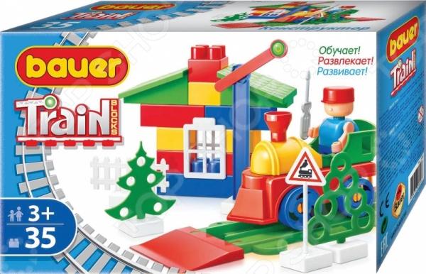 Конструктор игровой Bauer кр326Игровые конструкторы<br>Конструктор игровой Bauer кр326 - интересная и увлекательная игрушка, которая откроет вашему ребенку совершенно новый мир приключений и необычных историй, автором которых сможет стать он сам. Яркие и качественные элементы конструктора выполнены из прочного и безопасного пластика, легко складываются и компонуются. Ребенок с увлечением будет собирать конструктор и придумывать новые сюжеты для игр. Кроме того, собрать конструктор вашему малышу могут помочь его друзья - деталей хватит на всех. Подобное времяпрепровождение превратит развивающие занятия в увлекательную игру, разовьет в детях чувство товарищества, внимательность и ответственность. Подарите своему ребенку массу положительных эмоций и отличное настроение!<br>