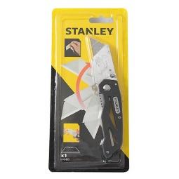 Купить Нож строительный складной STANLEY лезвие трапеция