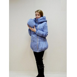 Купить Куртка для беременных зимняя 3 в 1 Nuova Vita 7201.03. Цвет: голубой