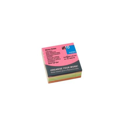 Купить Блок-кубик для записей Info Notes 5658-39
