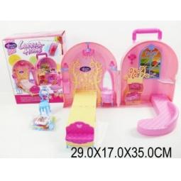 фото Кукольный дом с аксессуарами Shantou Gepai 623750