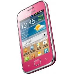 фото Смартфон Samsung Galaxy Ace Duos GT-S6802. Цвет: розовый
