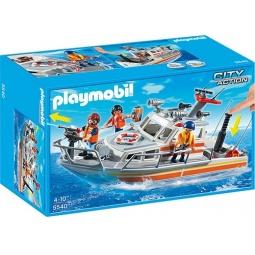 фото Конструктор игровой Playmobil «Береговая охрана: Спасательный крейсер»
