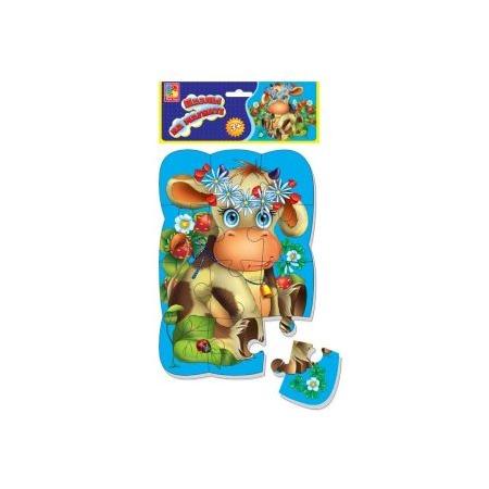 Купить Пазл магнитный Vladi Toys «Коровка»