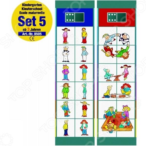 Игра обучающая Magnetspiele «Флокардс. Детский сад от 3 лет»Магнитные игры<br>Игра обучающая Magnetspiele Флокардс. Детский сад от 3 лет поможет в игровой форме развить у ребенка внимательность, наблюдательность, память, концентрацию и логическое мышление. С помощью занимательных магнитов ваш малыш сможет расширить свой кругозор и получить представление об окружающем мире. Он научится самостоятельно строить ассоциации и логические цепочки. В набор входят 12 карточек с заданиями, выполняя которые ребенок сможет:  распознавать одинаковых животных;  узнать какие животные живут в деревне;  распознавать различные предметы с другой перспективы;  познакомиться с различными деревьями, цветами и их тенями;  составлять картинки из половинок;  определять что подходит друг другу;  различать вид сбоку и спереди;  научиться распознавать цвета и их оттенки, и многое другое. С игрой Magnetspiele Флокардс. Детский сад от 3 лет обучение станет ещё интересней и веселей!<br>