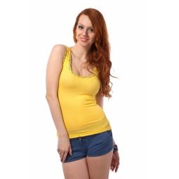 фото Майка Mondigo 8550. Цвет: желтый. Размер одежды: 42
