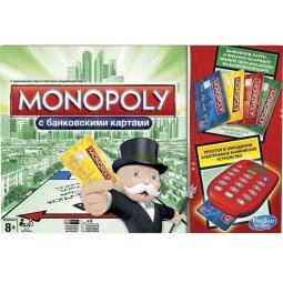 фото Настольная игра Hasbro «Монополия» 37712121 с банковскими карточками