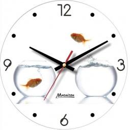 фото Часы настенные Marmiton «Золотые рыбки»