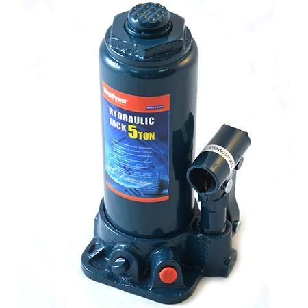 Купить Домкрат гидравлический бутылочный с клапаном Megapower M-90504S