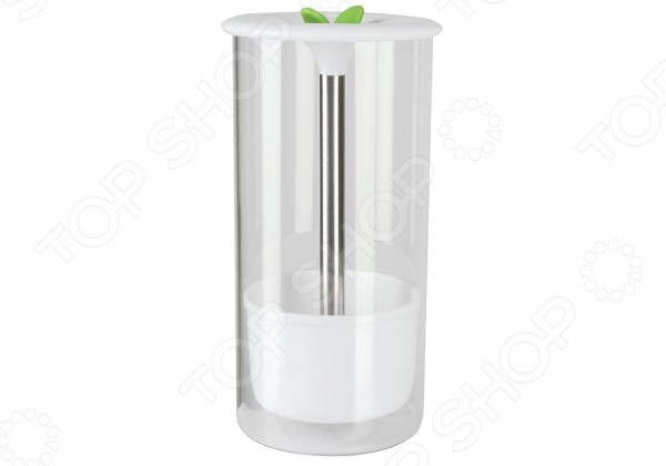 Банка для хранения зелени POMIDORO PGL-220011Банки для хранения<br>Банка для хранения зелени POMIDORO PGL-220011 очень полезное в быту изделие, которое обеспечит длительное и удобное хранение продуктов. Банка выполнена из прочного боросиликатного стекла. Благодаря прозрачным стенкам вы всегда сможете наблюдать за тем, в каком состоянии находится зелень и нуждается ли она в дополнительном поливе. Сама емкость снабжена поддоном из пластика, оснащенным трубкой для воды, силиконовая пробка представлена забавными листками. Чтобы продлить срок хранения зелени, достаточно один раз в несколько дней открывать пробку и доливать воду в поддон. Максимальное время хранения продукта в банке две недели.<br>