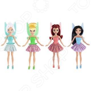 Кукла Jakks Pacific «Фея» 592295. В ассортиментеКуклы<br>Товар продается в ассортименте. Вид изделия при комплектации заказа зависит от товарного ассортимента на складе. Кукла JAKKS Фея 592295 это интересная и полезная игрушка для любой девочки. Такая игрушка оставляет простор для фантазий ребенка, дает возможность самостоятельно придумывать новые игры, и с помощью таких игр адаптироваться в реальном мире. Эта кукла надолго станет настоящим другом вашему ребенку. Кукла в шикарном наряде обязательно станет предметом гордости каждой девочки. Кукла Фея это одна из героинь знаменитого мультфильма.<br>