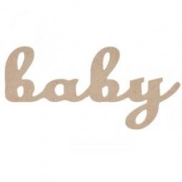 Купить Надпись для декупажа Кустарь «BABY»