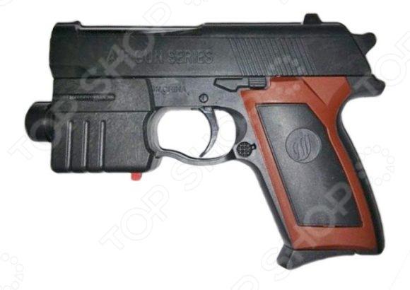 Пистолет игрушечный Shantou Gepai Es2071-M908A игрушечное оружие edison игрушечный пистолет стерлинг золотой 17 5 см