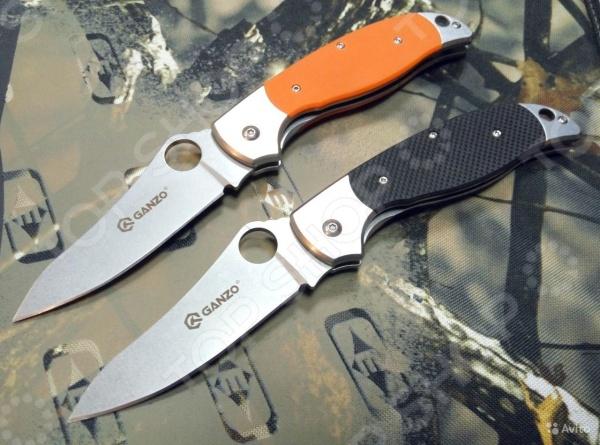 Нож складной Ganzo G7372Туристические и складные ножи<br>Нож складной Ganzo G7372 практичный и функциональный карманный нож. Благодаря его складной конструкции его можно брать с собой в туристический поход, на рыбалку или охоту. С его помощью вы без труда нарежете необходимые вам продукты, откроете даже самую плотную и прочную упаковку, почистите рыбу или разделаете небольшую тушку. Нож имеет эргономичную ручку, которая выполнена из композитного пластика и стали Она отличается своей удивительной стойкостью к ударам и воздействию агрессивных химических веществ. Клинок с гладкой заточкой выполнен из высококачественной стали марки 440C, которая отличается сбалансированным сочетание твердости, устойчивости к воздействию коррозии и ржавчины. Твердость сплава составляет 58 HRC, что позволяет ножу оставаться острым после каждой заточки. Лезвие занимает всего 8,9 см от общей длины ножа.<br>