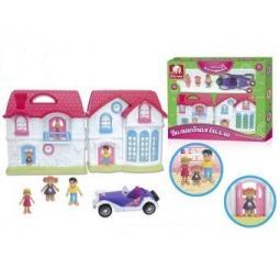 фото Кукольный дом с аксессуарами S+S TOYS «Волшебная вилла» 96816