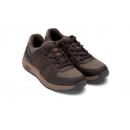 Купить Кроссовки адаптивные Walkmaxx мужские. Цвет: коричневый
