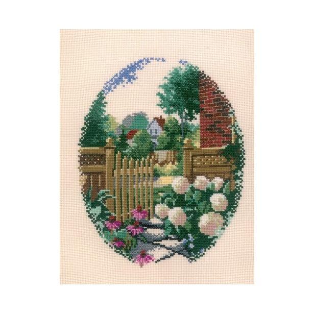 фото Набор для вышивания RTO «Садовая калитка»