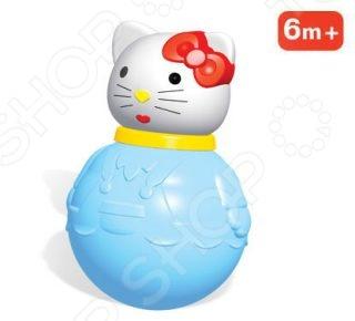 Неваляшка большая Стеллар «Кошечка» развивающие игрушки стеллар неваляшка средняя кошечка