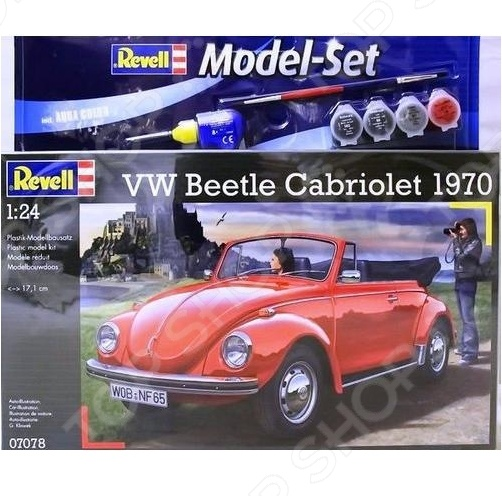 Набор для сборки Revell «Volkswagen Beetle 1500C» alto autoart 1 18 volkswagen beetle car model 12001955 years multicolor alloy