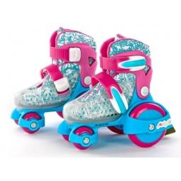 фото Роликовые коньки детские раздвижные Moby Kids 64537 «Квады»