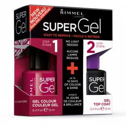 фото Лак для ногтей Rimmel Super Gel. Тон: 025