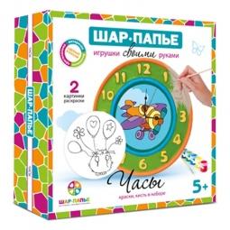 фото Набор для росписи Шар-папье «Часы»