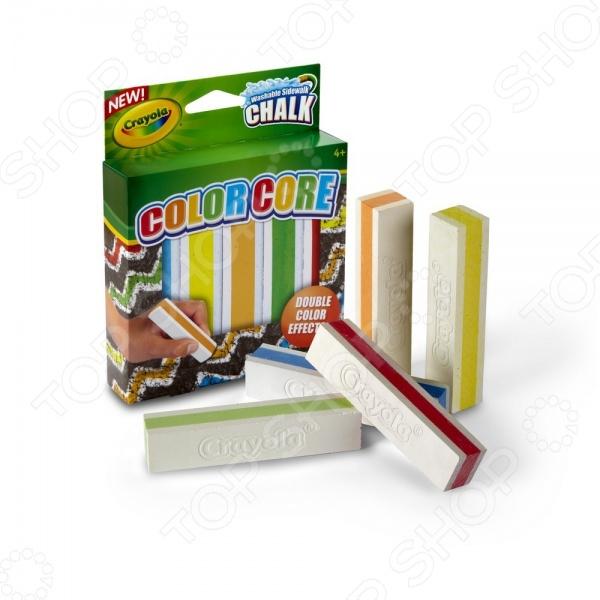 Мелки для рисования на асфальте Crayola 03-5801C набор crayola мел для асфальта 5шт 03 5801c