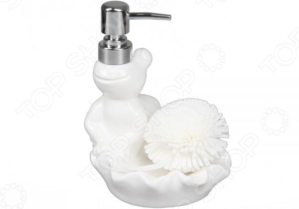 Дозатор для моющего средства Rosenberg 7468-WДиспенсеры для мыла<br>Дозатор для моющего средства Rosenberg 7468-W - стильная и удобная модель, которая станет красивым и практичным дополнением любой ванной комнаты. Чистота и гигиена - залог здоровья каждого человека. В этом случае кусковое мыло не всегда может гарантировать полную гигиену: оно раскисает в мыльнице, теряя свой внешний вид и полезные свойства, а кроме того, кусковое мыло значительно сильнее высушивает кожу чем жидкие гели на основе крема. Именно поэтому, сегодня дозаторы жидкого мыла начинают пользоваться все большей популярностью среди покупателей. Дозатор мыла позволяет более экономично расходовать мыло, он более удобен - достаточно лишь нажать на рычаг, а кроме того, стильный дозатор станет оригинальным украшением ванной комнаты и подчеркнет ее индивидуальность. Выполнена модель из качественных и безопасных материалов, что позволяет значительно продлить срок службы изделия.<br>