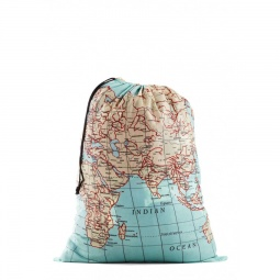 Купить Мешок для белья Kikkerland Maps Travel