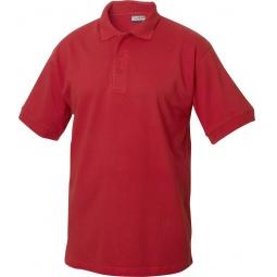 фото Рубашка-поло Clique «Линкольн». Цвет: красный. Размер одежды: L
