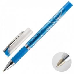 фото Ручка шариковая Erich Krause Fire Ball Stick. Цвет чернил: синий. Цвет корпуса: голубой