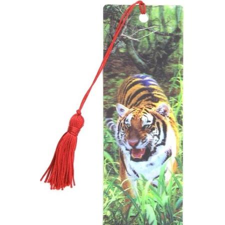 Купить 3D-закладка для книг Липуня «Тигр»