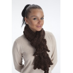 фото Шарф универсальный Bradex «Чудо-шарфик». Цвет: коричневый