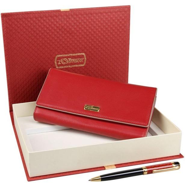 фото Набор: кошелек и ручка Venuse 76004