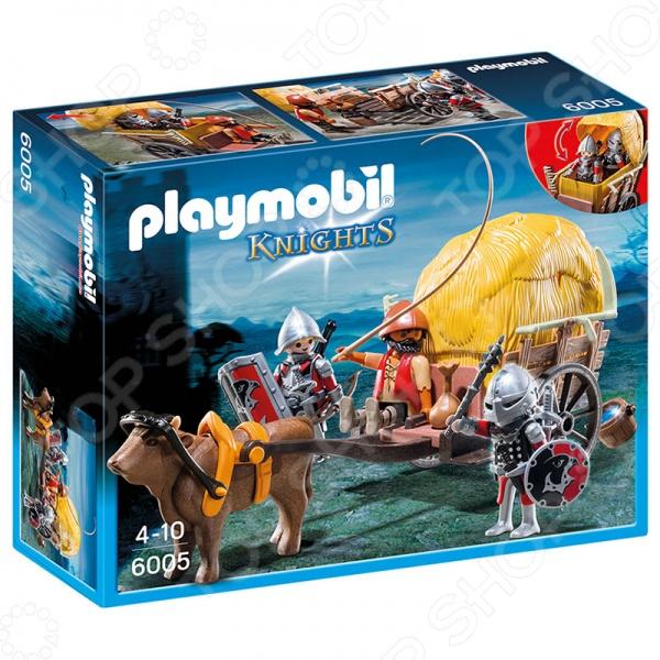 Конструктор игровой Playmobil «Рыцари: Рыцари Сокола с камуфляжной повозкой»