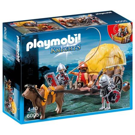 Купить Конструктор игровой Playmobil «Рыцари: Рыцари Сокола с камуфляжной повозкой»