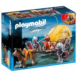 фото Конструктор игровой Playmobil «Рыцари: Рыцари Сокола с камуфляжной повозкой»