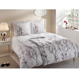 фото Комплект постельного белья TAC White garden. Семейный