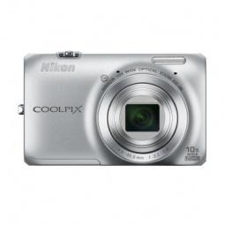 фото Фотокамера цифровая Nikon CoolPix S6300. Цвет: серебристый