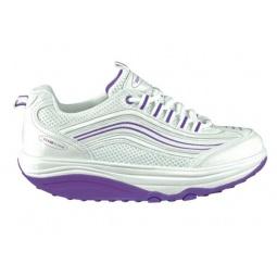 фото Кроссовки Walkmaxx женские. Цвет: бело-фиолетовый. Размер: 37