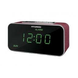 фото Радиобудильник Hyundai H-1503U. Цвет: красный
