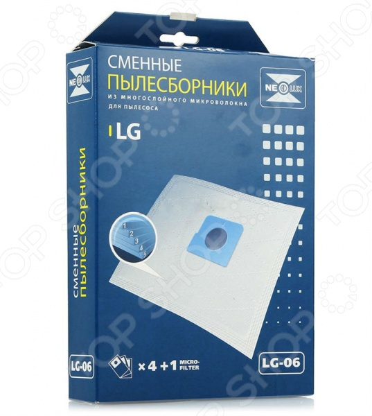 Мешки для пыли Neolux LG-06 мешки сетчатые на рулоне