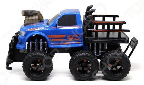 Машина на радиоуправлении Пламенный Мотор «Внедорожник» 87581 игрушка пламенный мотор внедорожник пм 040 blue 870257